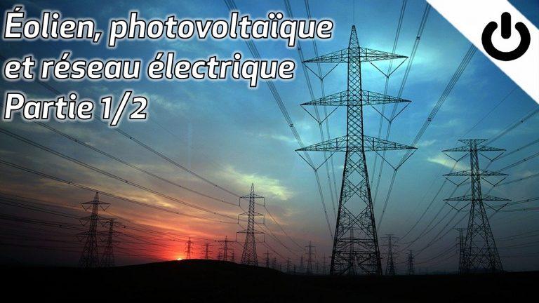 éolienne, photovoltaïque et réseau électrique